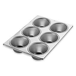 Wilton® Performance™ Aluminum 6-Cavity Jumbo Muffin Pan