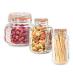 Oggi™ Glass Canister with Clamp Lid