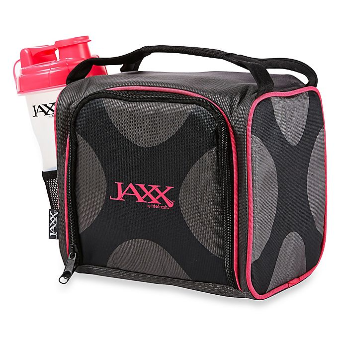 e8dac7ca6b9 Fit & Fresh® Jaxx FItPak 10-Piece Lunch Bag and Portion Control Set in Pink
