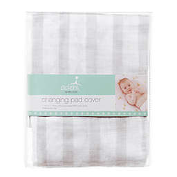 aden® by aden + anais® Changing Pad Cover in Grey Stripe
