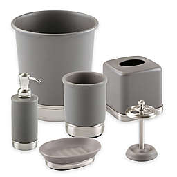 iDesign® York Bath Accessory Collection in Matte Grey
