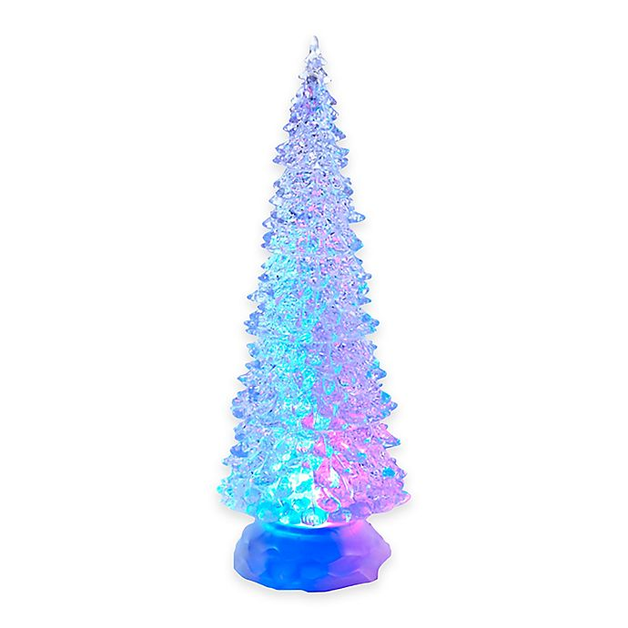 Kurt Adler 12 Inch Led Lighted Christmas Tree Bed Bath