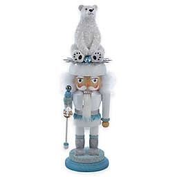 Kurt Adler 17-Inch Polar Bear Nutcracker