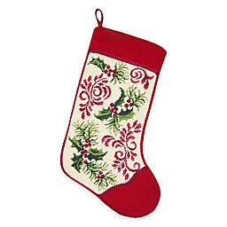 Needlepoint 18-Inch Holiday Royale Cotton Christmas Stocking