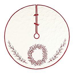 54-Inch Berry Wreath Tree Skirt
