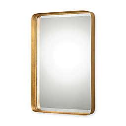 Uttermost 20-Inch x 30.25-Inch Crofton Rectangular Mirror in Antique Gold