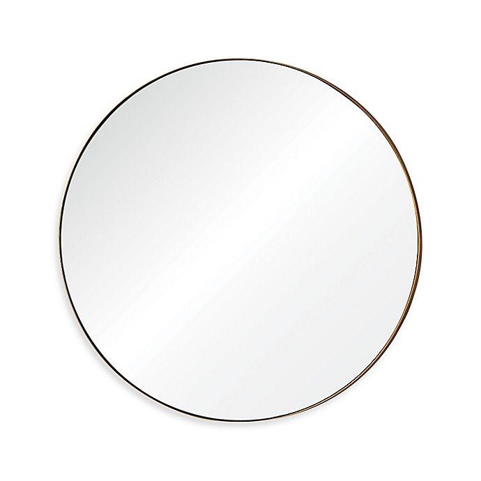 Alternate image 1 for Ren-Wil Oryx 30-Inch Round Mirror