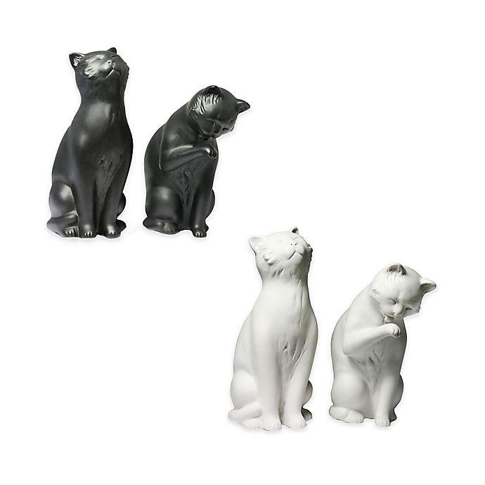 Alternate image 1 for Danya B. Sitting Cat Bookends (Set of 2)