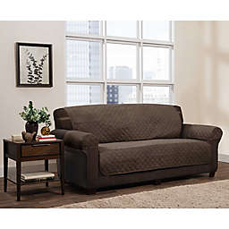 Zenna Home Smart Fit Reversible Faux Suede Furniture Cover Collection