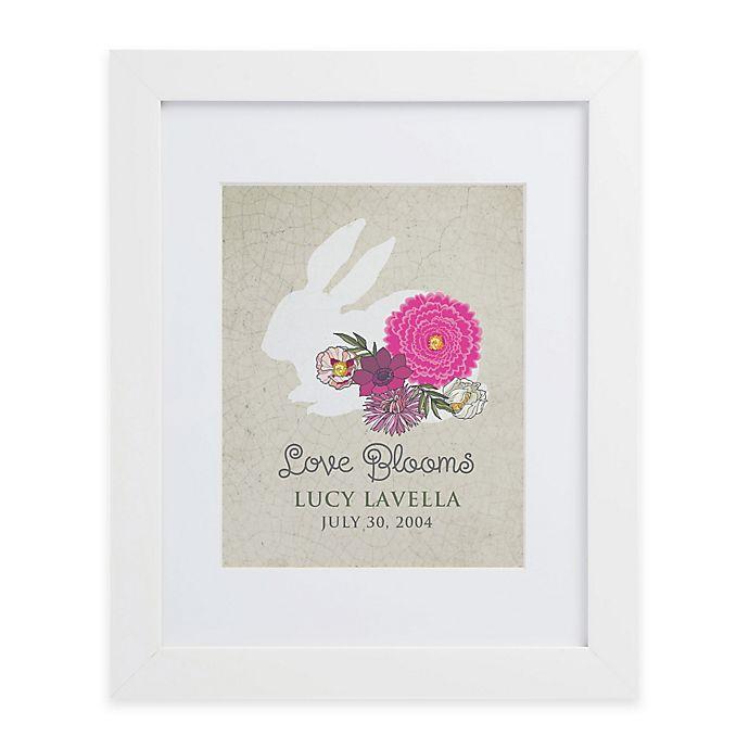 Alternate image 1 for Love Blooms Framed Wall Print