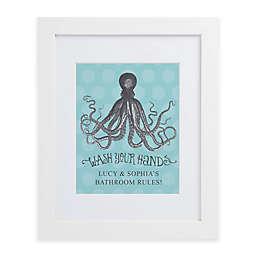 Octopus Framed Wall Print