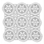 Heritage Lace® Yuletide Doily in White