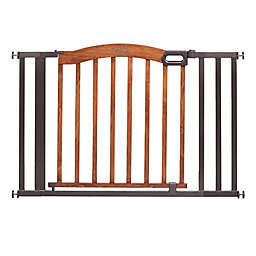 HOMESAFE™ by Summer Infant® Decorative Wood and Metal 5-Foot Pressure Mounted Gate