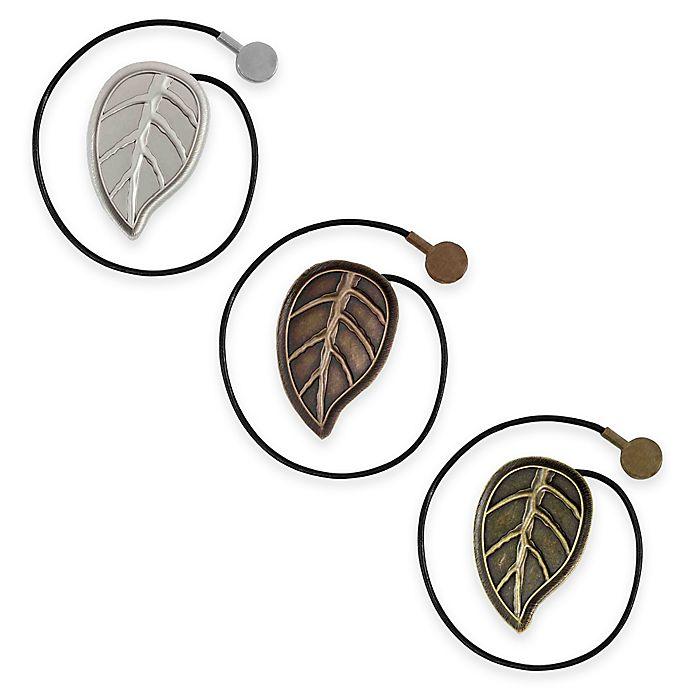 Leaf Magnetic Window Curtain Tie Back Bed Bath Amp Beyond