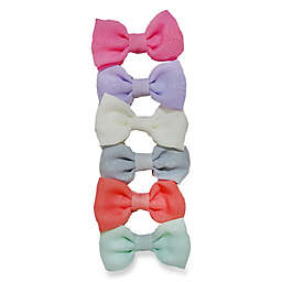 So'Dorable 6-Piece Mini Bow Hair Clips