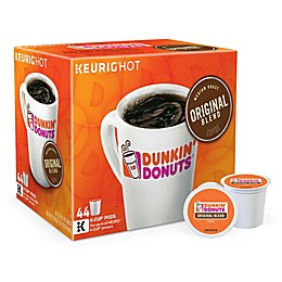 Dunkin' Donuts® Original Blend Coffee Keurig® K-Cup® Pods Value Pack 44-Count
