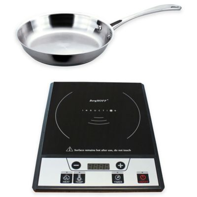 Berghoff 2 Piece Induction Stove And Stainless Steel Fry