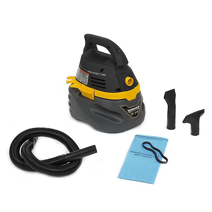 Alternate image 1 for WORKSHOP® 1.75 Peak HP 2.5 Gallon Compact Portable Wet/Dry Vacuum