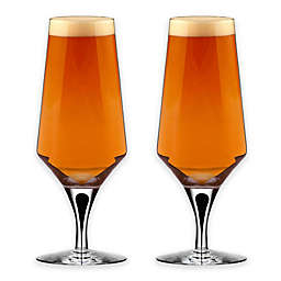 Orrefors Metropol Beer Glasses (Set of 2)