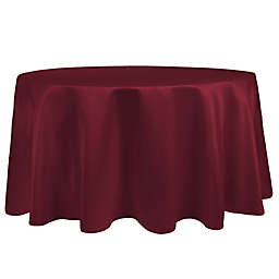 Ultimate Textile Duchess 90-Inch Round Tablecloth in Magenta