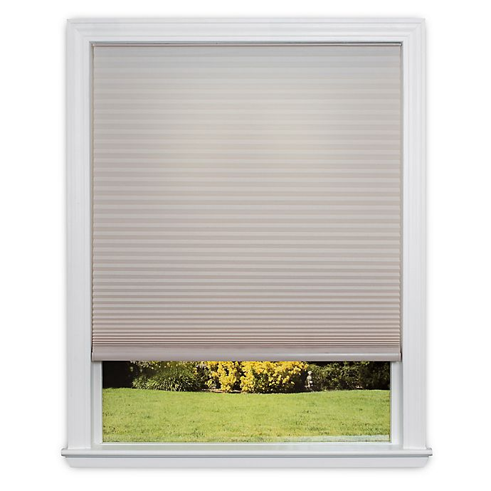 Alternate image 1 for Redi Shade Easy Lift Cordless Cellular 64-Inch Length Soft-Spun Shade