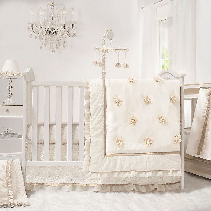 Alternate image 1 for The The PeanutShell™ Juliette 4-Piece Crib Bedding Set