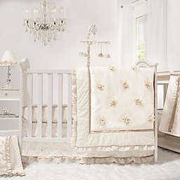 The Peanutshell Juliette 4 Piece Crib Bedding Set