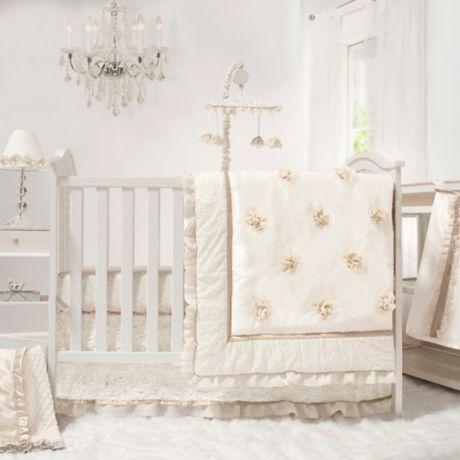 The The Peanutshell Juliette 4 Piece Crib Bedding Set