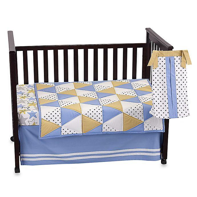 Alternate image 1 for The PeanutShell™ Stargazer 4-Piece Crib Bedding Set