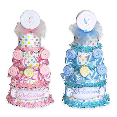 Silly Phillie™ Delicious Lollipop Diaper Cake Baby Gift