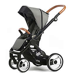 Mutsy Evo Urban Nomad Stroller in Black/Light Grey