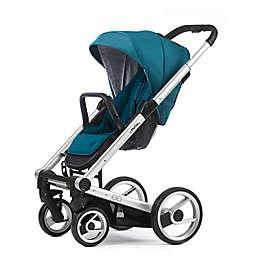 Mutsy Igo Stroller in Silver/Aqua