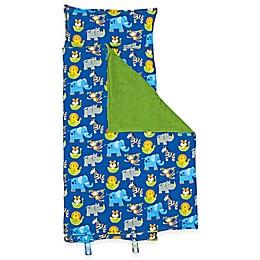 Stephen Joseph® Allover Zoo Print Nap Mat in Blue/Green