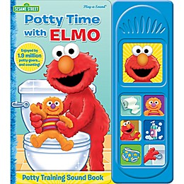 "Sesame Street® ""Potty Time with Elmo"" Little Sound Book"