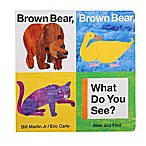 Brown Bear, Brown Bear, What Do You See?  Slide & Find Book by Bill Martin Jr.