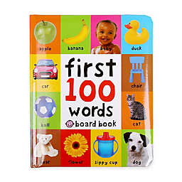 """""""First 100 Words"""" Book by Roger Priddy"""