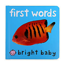 Bright Baby First Words Book by Roger Priddy