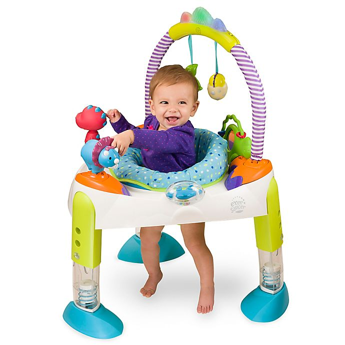 Alternate image 1 for ExerSaucer® by Evenflo® Fast Fold + Go™ \