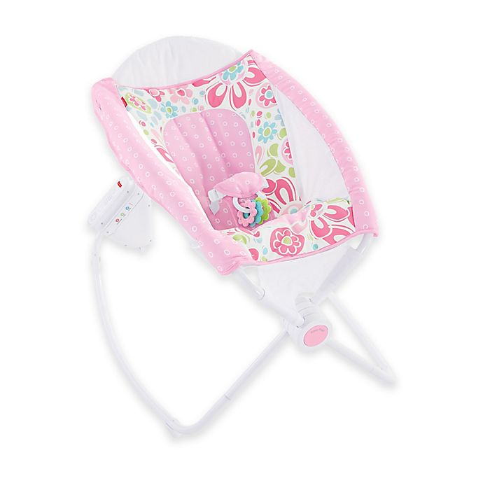 4dc21a59e98 Fisher-Price® Newborn Auto Rock  n Play™ Sleeper in Floral Confetti ...