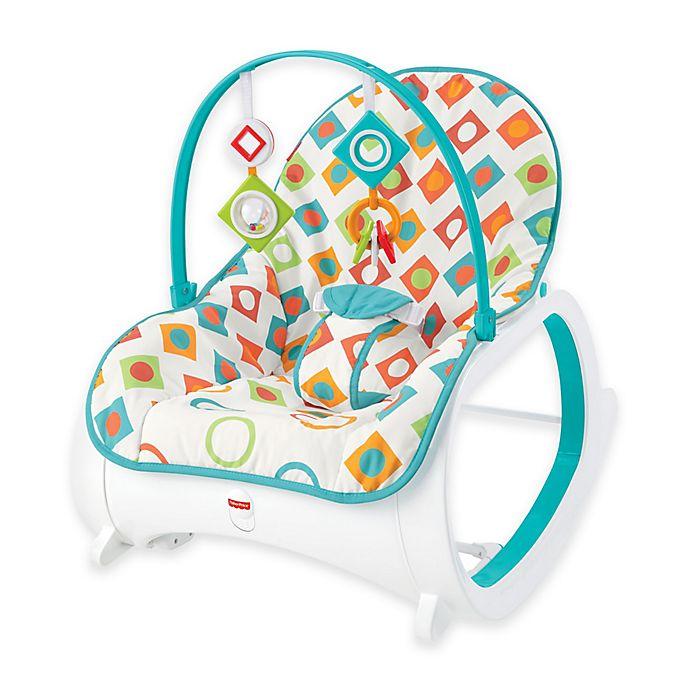 Alternate image 1 for Fisher-Price® Infant-to-Toddler Rocker in Geo Diamonds