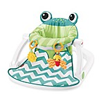Fisher-Price® Sit-Me-Up Frog Floor Seat in Citrus