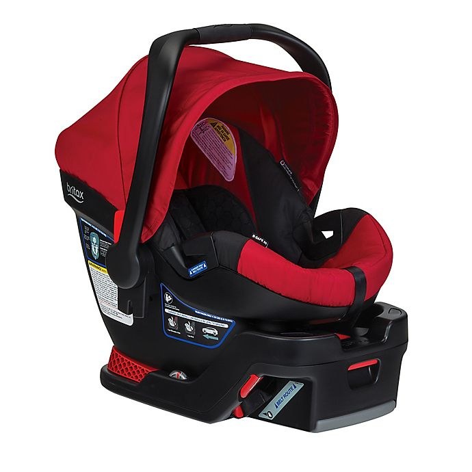 Britax B Safe 35 Xe Series Infant Car Seat In Red Bed