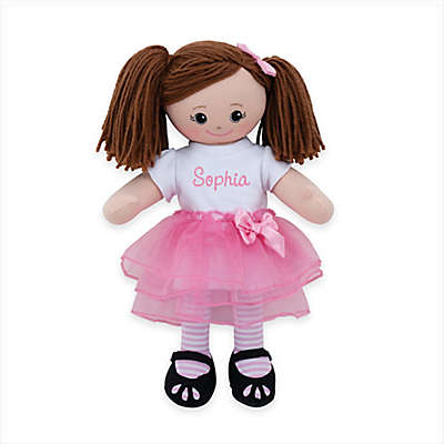 Brunette Doll with Tutu