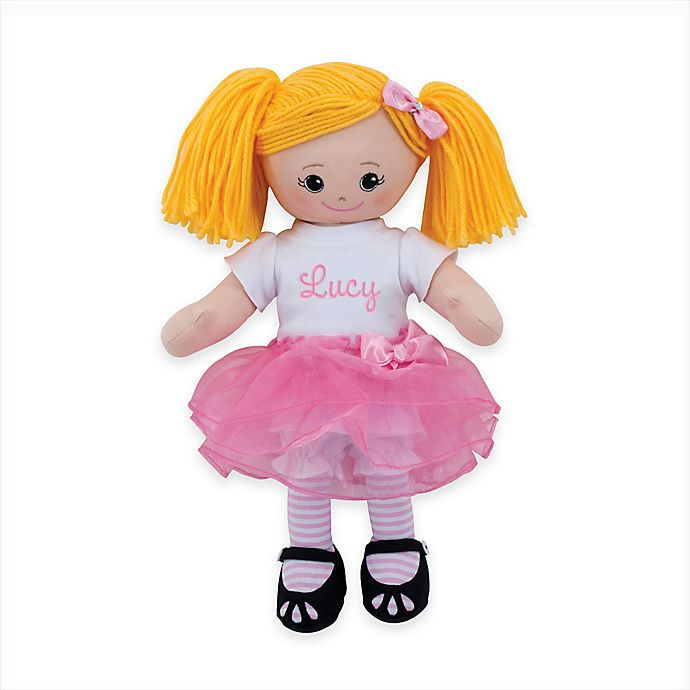 Alternate image 1 for Blonde Doll with Tutu