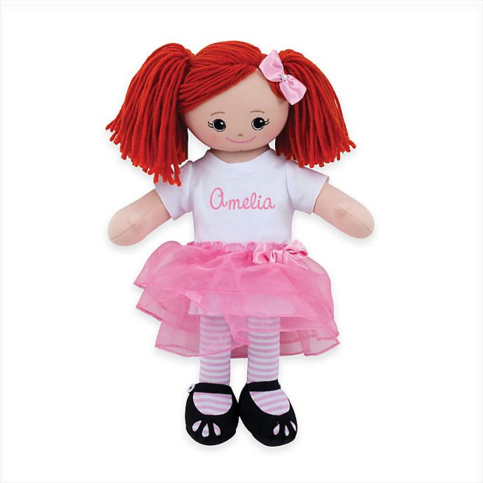 Alternate image 1 for Red Head Doll with Tutu