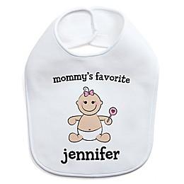 Baby Girl Character Bib