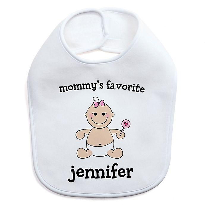 Alternate image 1 for Baby Girl Character Bib