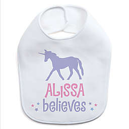 She Believes Unicorn Bib