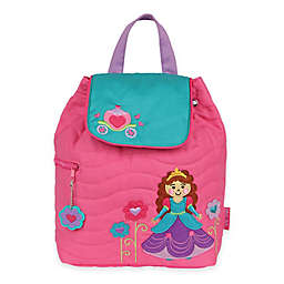 Stephen Joseph® Princess Quilted Backpack in Pink