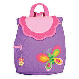 Stephen Joseph® Butterfly Quilted Backpack in Purple
